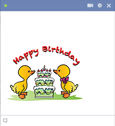 Birthday Ducks for Facebook