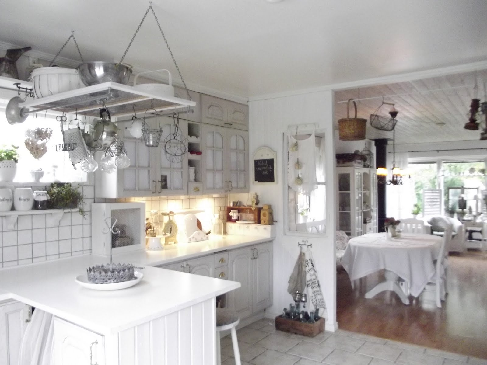 verniciare le ante di una cucina con la vintage paint. colori pareti ...