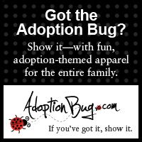 Adopt t-shirts - we get part of the proceeds!