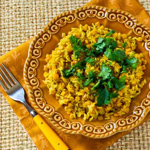 This nutritious combination of Curried Rice and Red Lentils is perfect ...