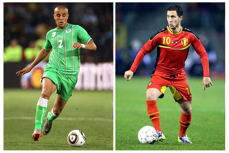 Watch Belgium vs Algeria Live full HD Streaming World cup