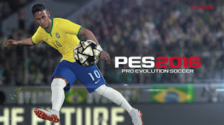 Pro Evolution Soccer ( PES ) 2016 Full APK+DATA For Android Terbaru