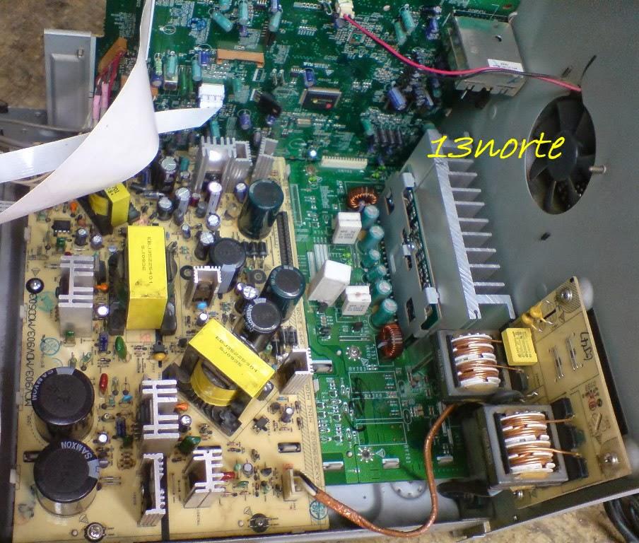 Lg mcd504 a0p no enciende falla fuente laboratorio for Donde reparar mi roomba