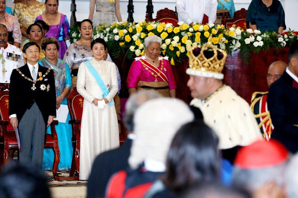 The coronation service for King Tupou VI was held at the Free Wesleyan Centenary Church in the capital, Nuku'alofa
