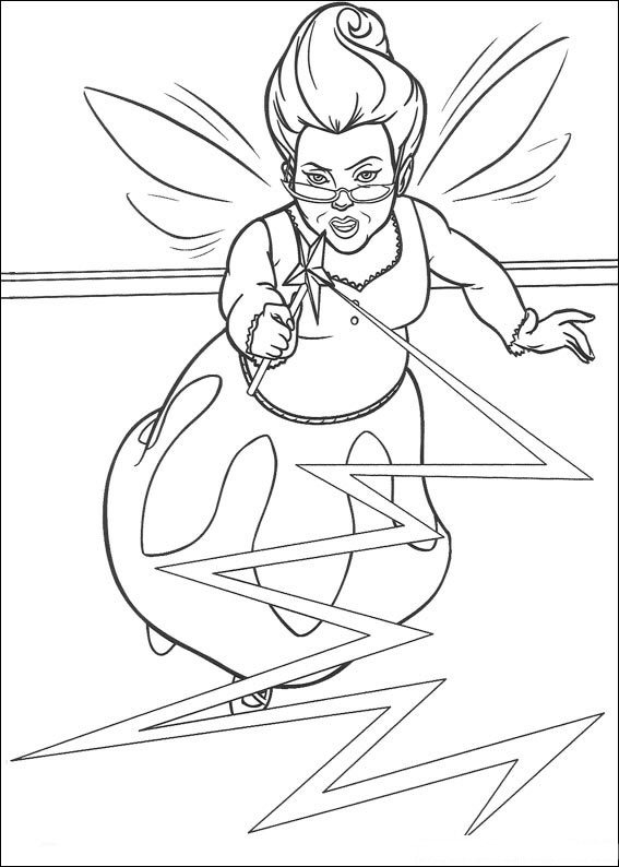 wicked witch coloring pages - photo#23