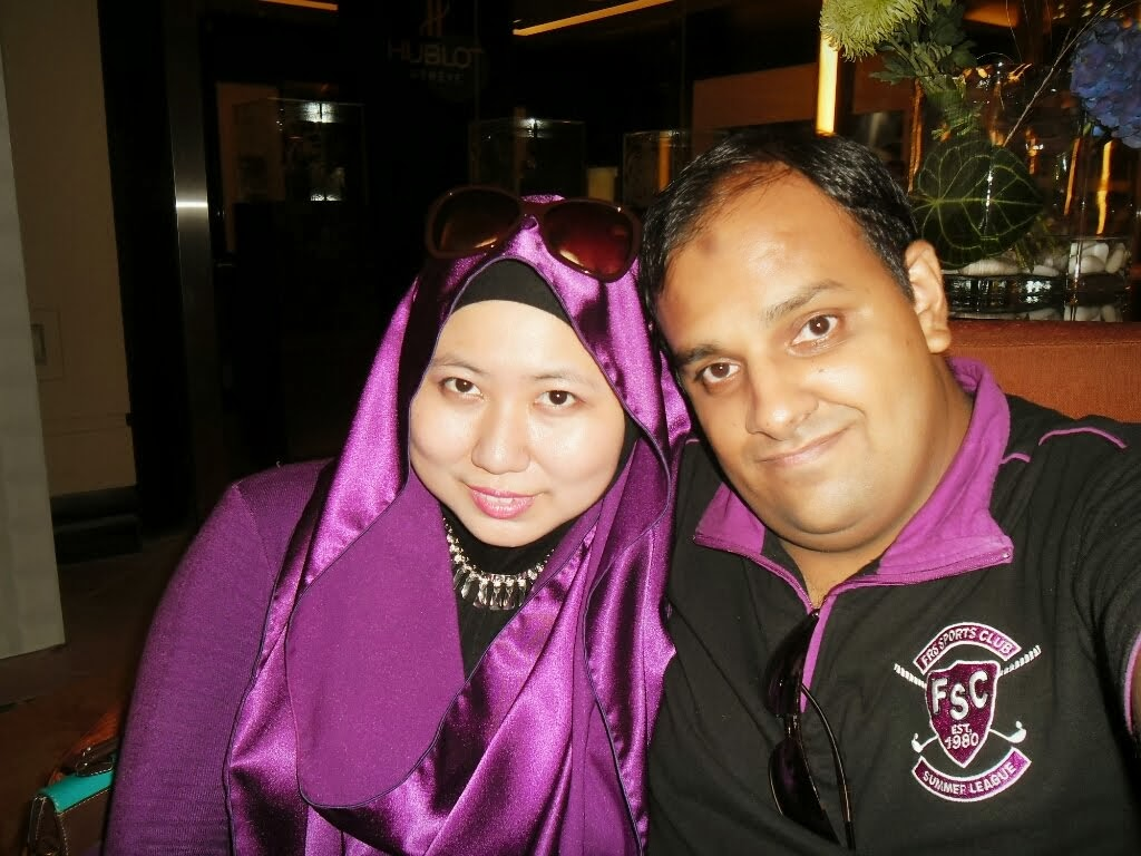 1st Wedding Anniversary 2013 - JW Marriott Hotel Kuala Lumpur