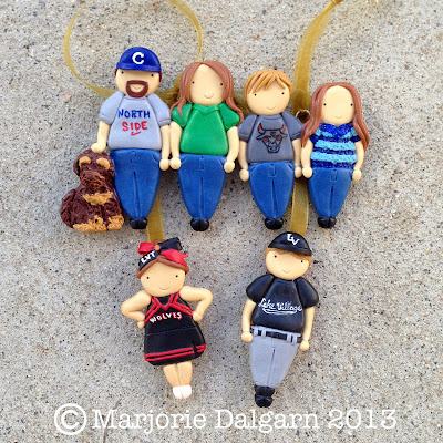 living with ThreeMoonBabies | Custom Family Ornaments