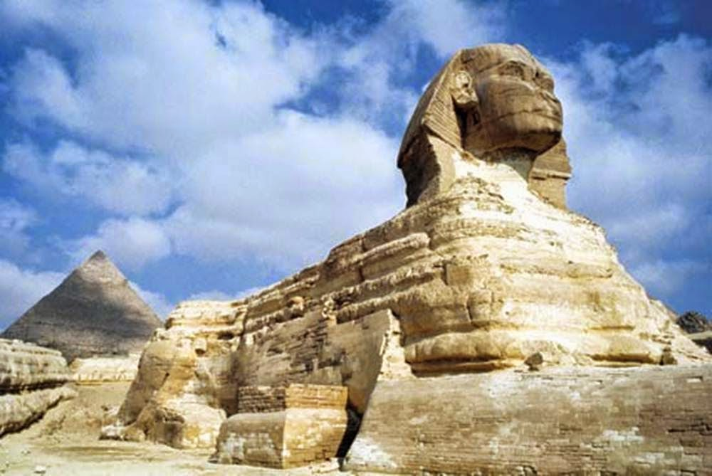 a paper on the great sphinx at giza in egypt A full-size replica of the famous great sphinx of giza has appeared in a village in china residents in hebei province gathered to take photos of the bizarre addition to their skyline, which is 20 metres high and over 60 metres long modern replica: the statue in china appears to have been built using.