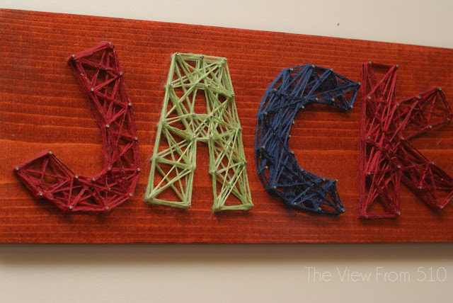 string art name tutorial