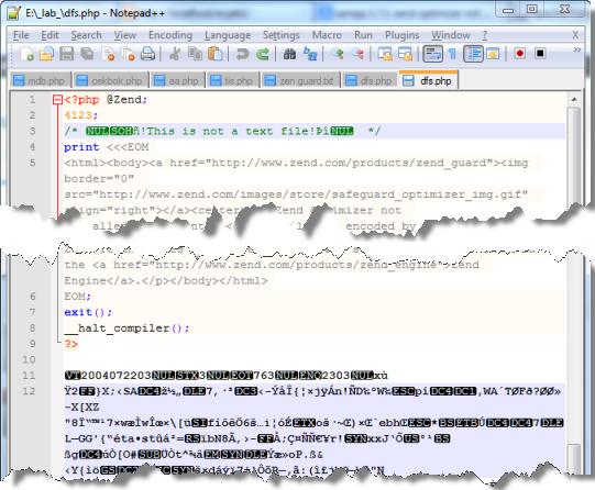 Proteksi (Enkripsi) file PHP dengan Zend Guard sebagai Zend Encodernya 2
