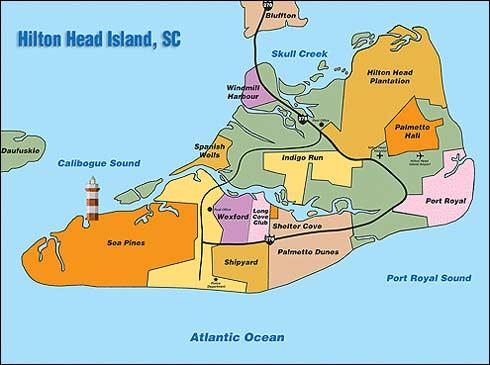 Other Islands Near Hilton Head