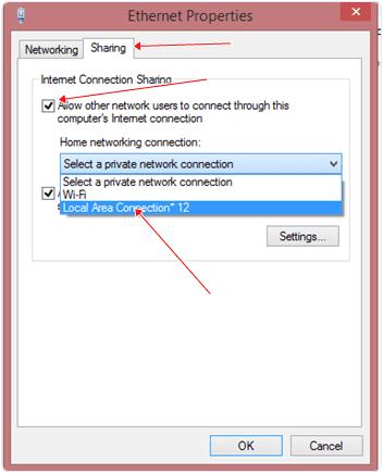 Как на windows 81 создать точку доступа wifi