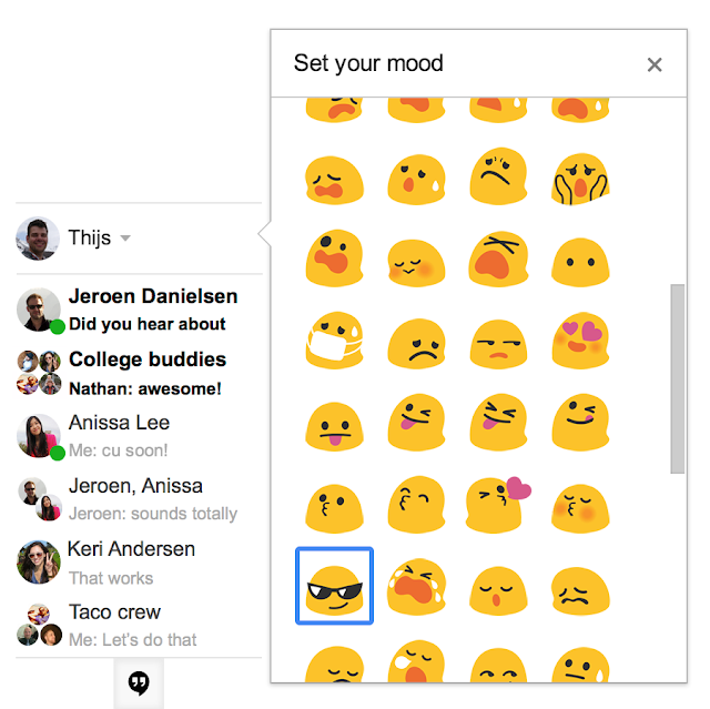 google emoticons