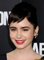 Lily Collins Abduction Premiere at Grauman's Chinese Theatre in Hollywood