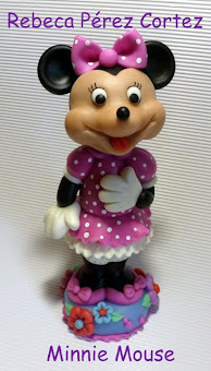 Minnie en Masa Flexible
