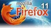 Firefox's sharing on social networks