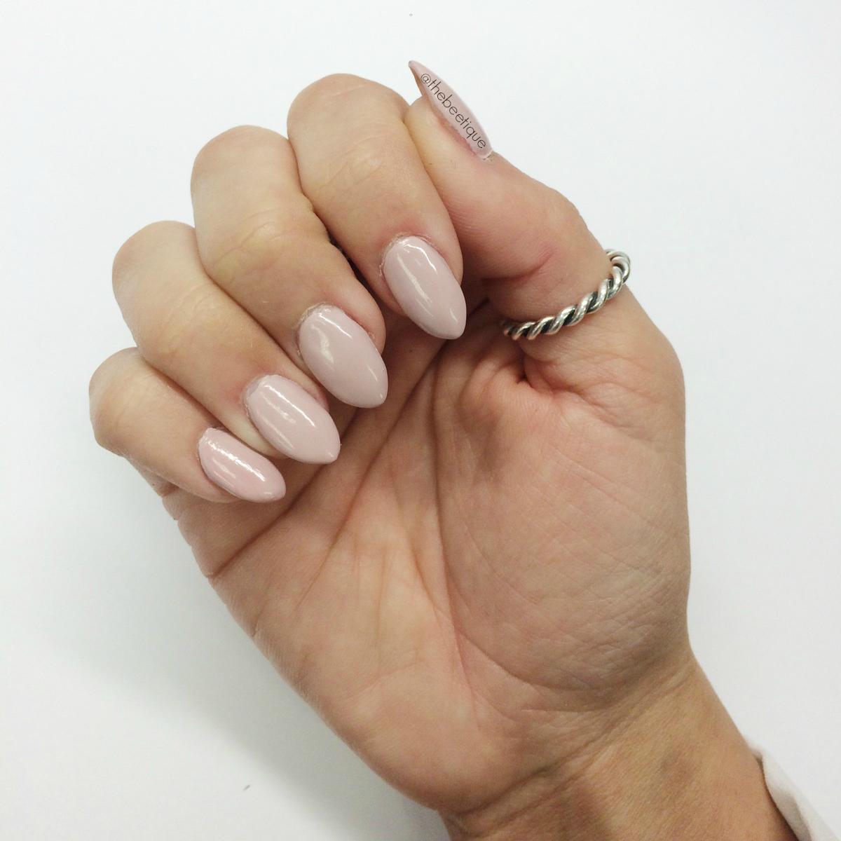 nails gel tips almond shape white joy studio design
