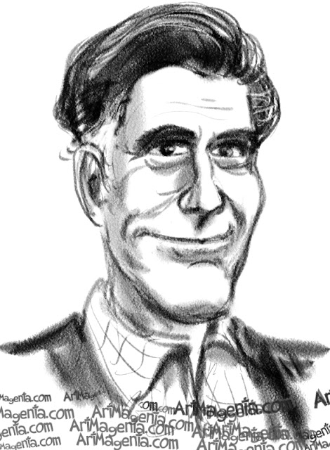 Mitt Romney is a caricature by caricaturist Artmagenta