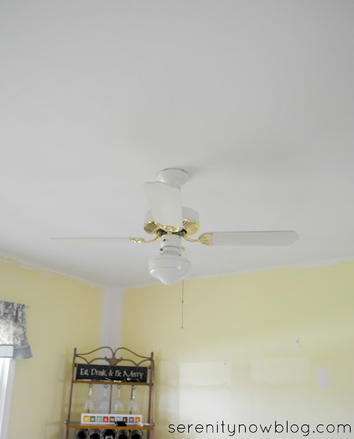 ByeBye to the old ceiling fan! at Serenity Now