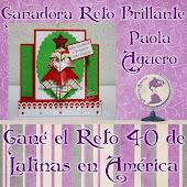 Ganadora Reto #40 Latinas en América