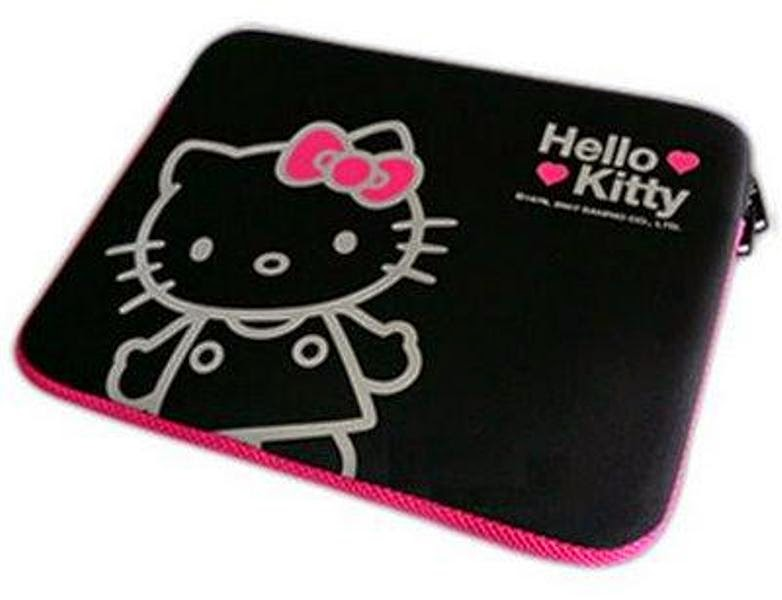 Tas laptop hello kitty murah warna hitam