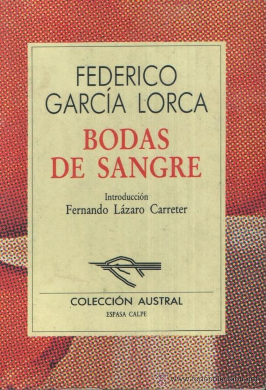Bodas de Sangre de Federico García Lorca para descargar