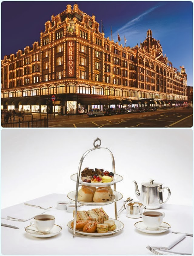 Afternoon Tea for Two at Harrods