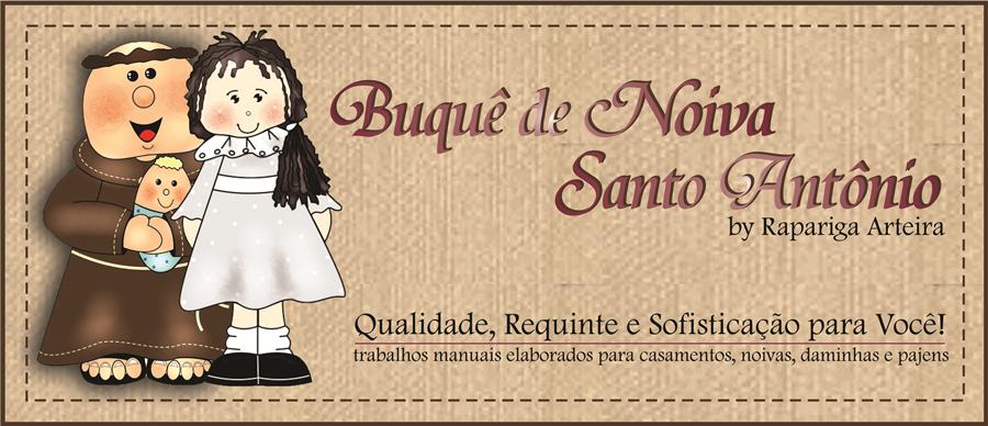 Buquê de Noiva Santo Antônio by Rapariga Arteira