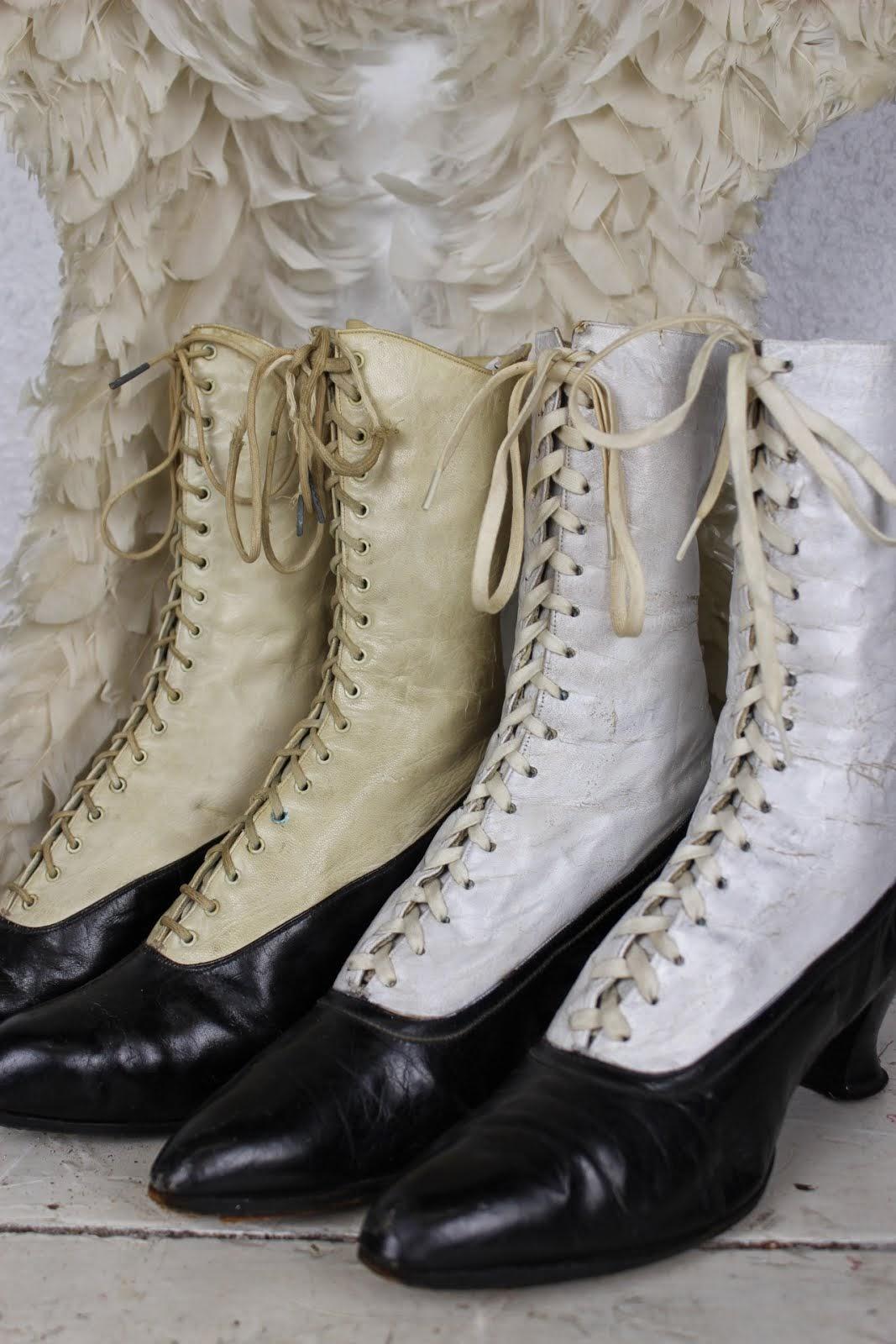 Victorianske snørrestøvler