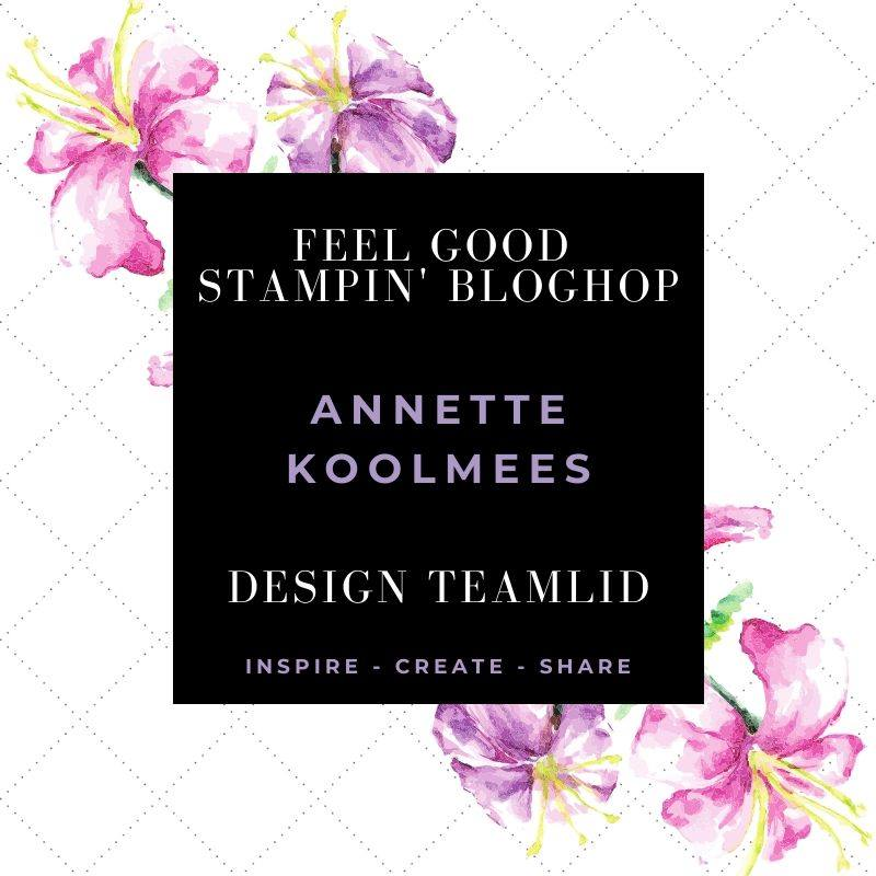 FEEL GOOD STAMPIN' BLOGHOP