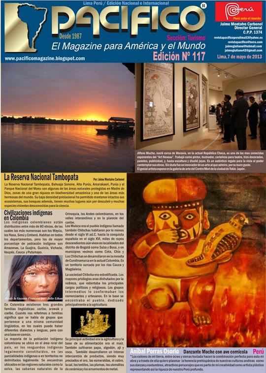 Revista Pacífico Nº 117 Turismo