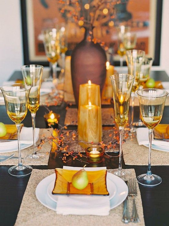 11 thanksgiving table setting ideas - directions on how to set the