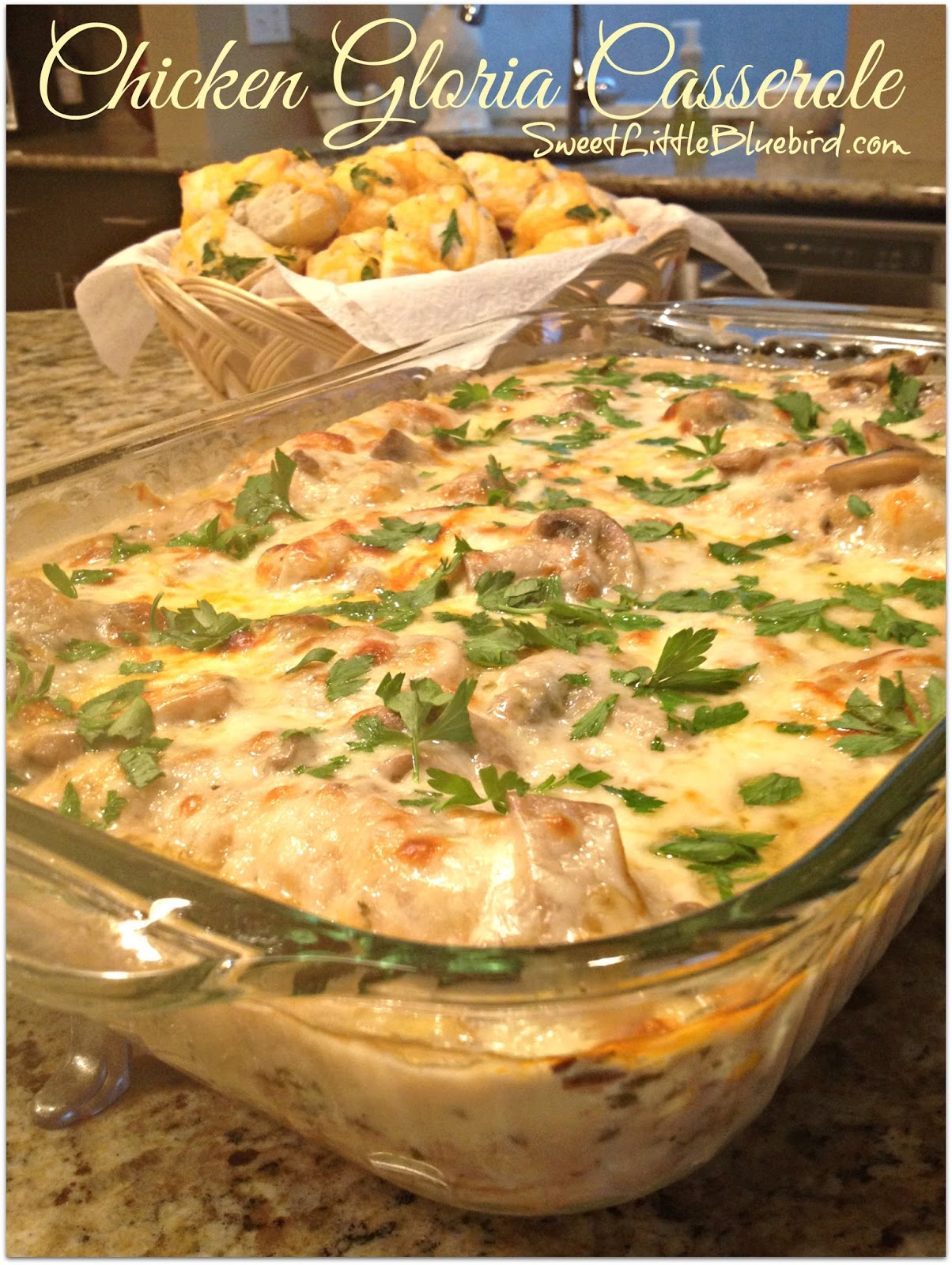 Sweet Little Bluebird: Chicken Gloria Casserole - Tried and True ...