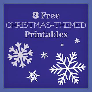 3 Free Christmas Prinables