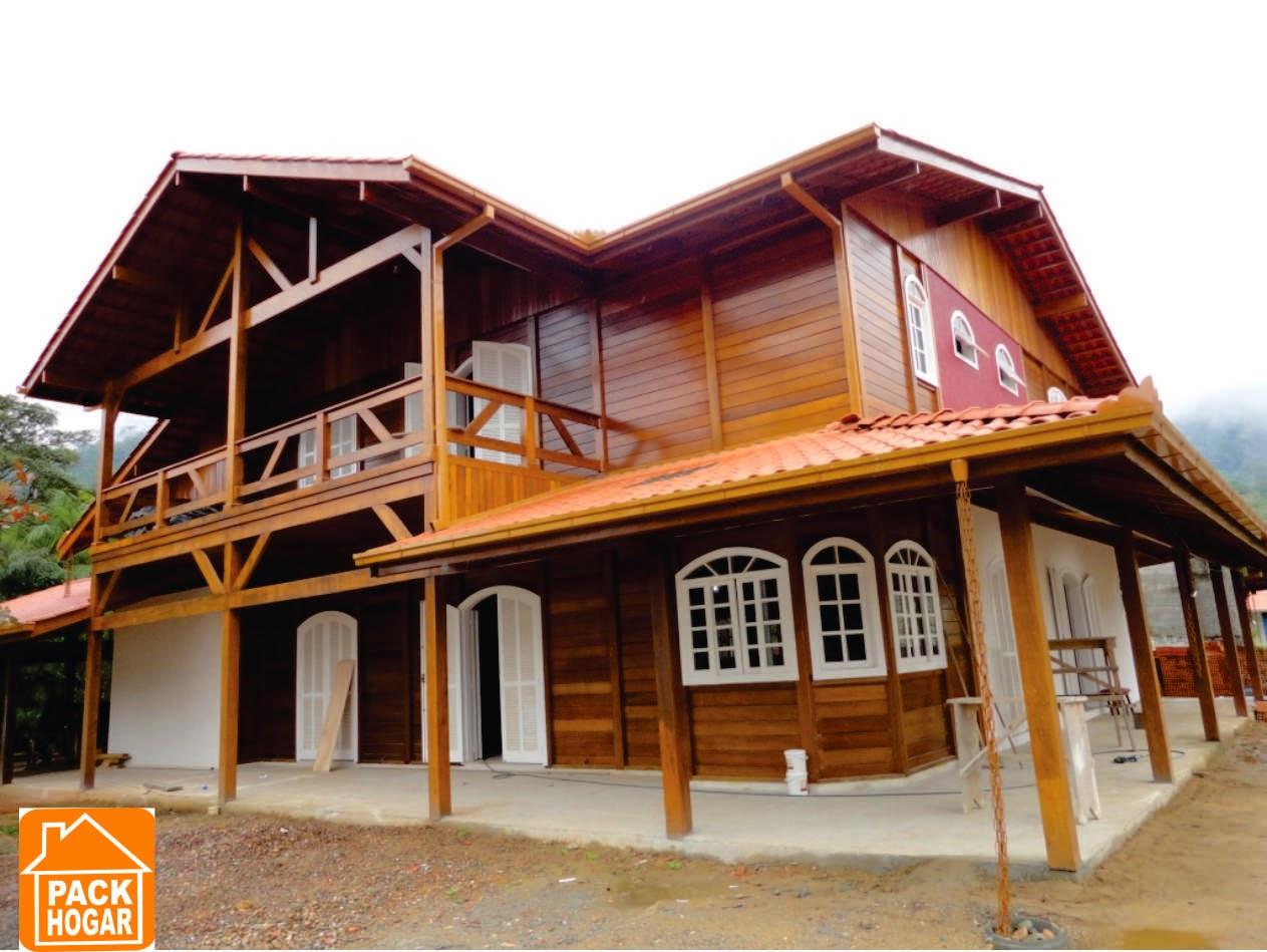 Dise os modelos de casas prefabricadas para campo playa en - Casas prefabricadas grandes ...