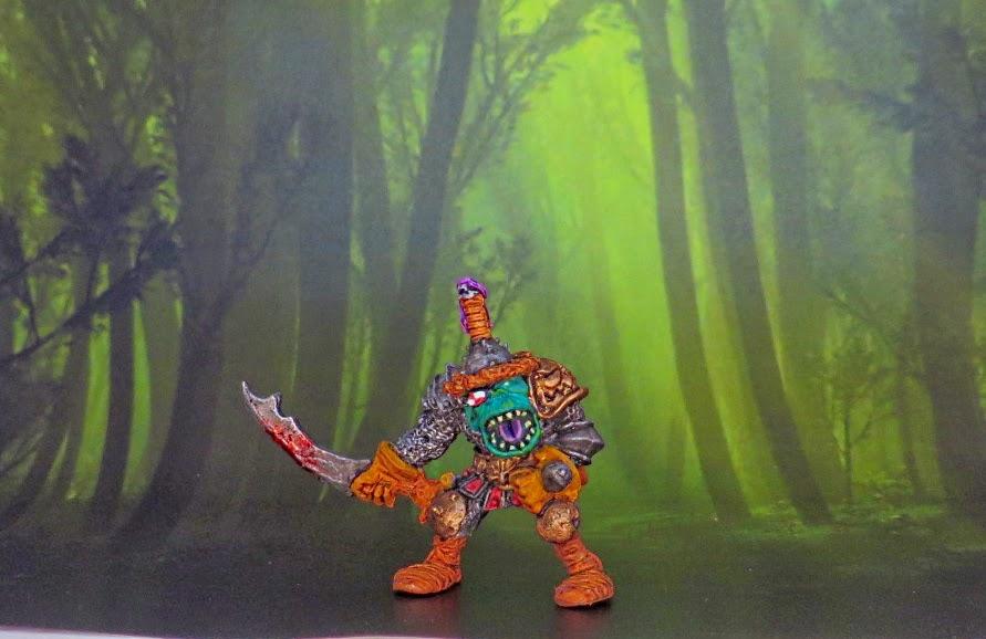 Orc, Warhammer, OOP, Kev adams, Boar rider, General, Citadel, 1988, 0505, Games Workshop