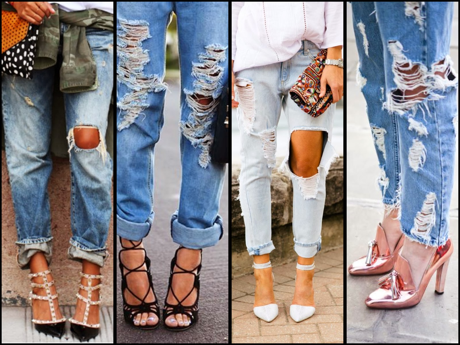 The fashion guide blog rule 29 how to wear ripped jeans and you might be asking yourself what you can wear with them in the cold weather well its simple wear ripped jeans with a cream trench coat or beige solutioingenieria Gallery