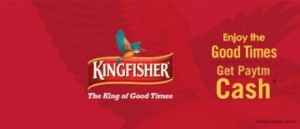 Kingfisher Beer Offer