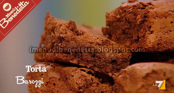 Torta Barozzi di Benedetta Parodi