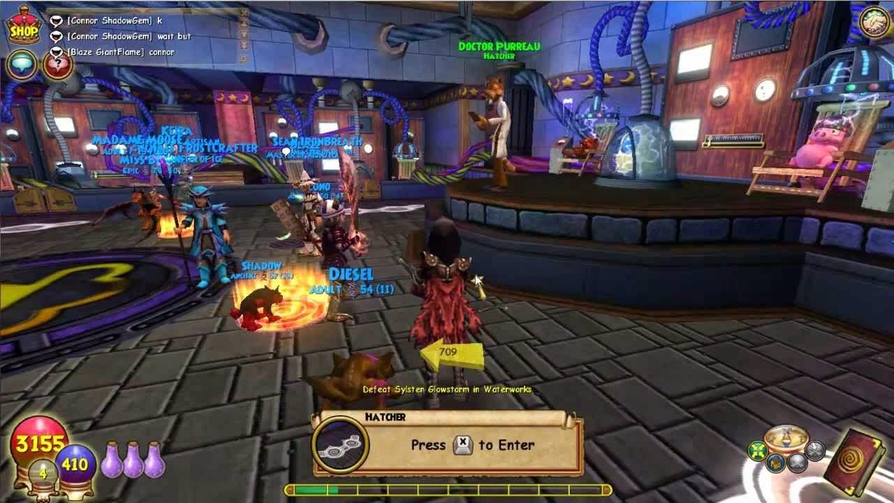wizard 101 screenshot