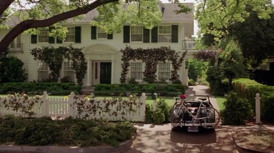 Filming locations of chicago and los angeles father of for Father of the bride house plan