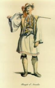 Βοσκός της Αρκαδίας, O.M. von Stackelberg, 1810-4