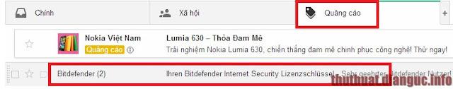 Nhận 6 tháng bản quyền Bitdefender Internet Security 2015