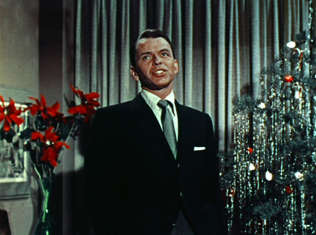 sinatra actually shares a writing credit for the song mistletoe and holly a song introduced on his 1957 album a jolly christmas from frank sinatra