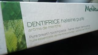 Dentifrice haleine pure melvita
