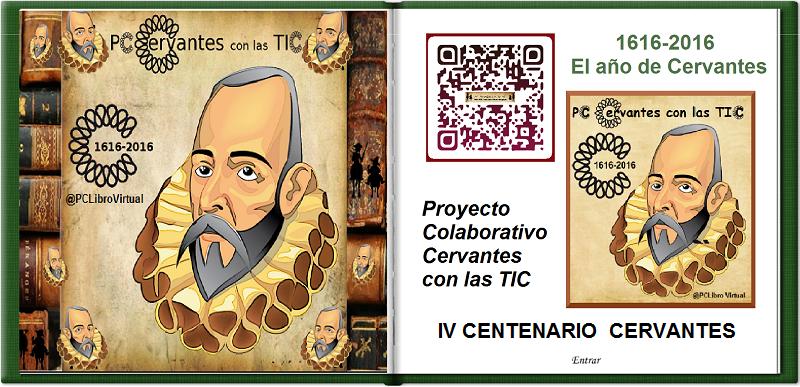 Participamos en el IV Centenario de Cervantes 1616/2016