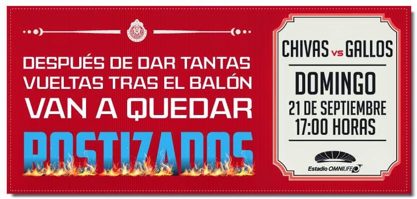El desplegado de Chivas, previo al encuentro contra Querétaro