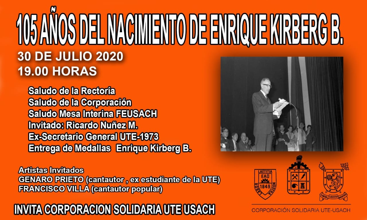 105 AÑOS DEL NACIMIENTO DE ENRIQUE KIRBERG B.