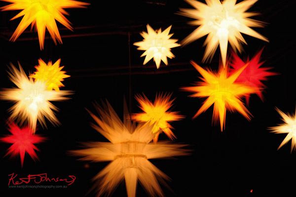 Moravian Stars by Jacqui Adamse,  Walsh Bay, Vivid 2012