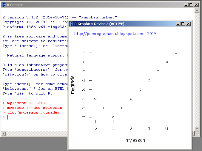 Scatter Plots in R Programming | Pemrograman R